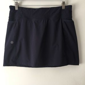 Athleta Navy Blue Tennis Skirt M